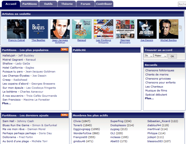 France - Music / Lyrics / Learning / Tools Website Subscribers Email list (internal data from boiteachansons.net) 53.500 Emails