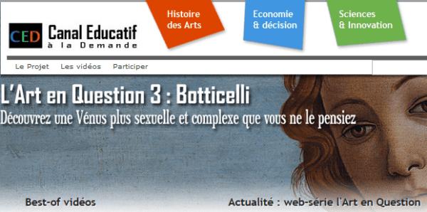 France - CED | Canal Educatif à la Demande Email list (internal customer database) 25.000 Emails