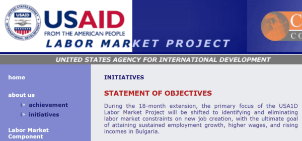 Bulgaria - Labor Market Executives Email list (internal data from USAID, Labor Market Project, http://pension.bg) 14.700 Emails