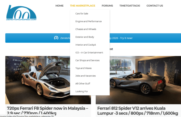 Malaysia (English speaking) - The Automotive Network & Car Marketplace customers Email list (internal data from zerotohundred.com) 93.800 Emails