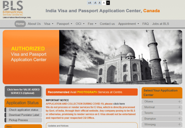 Canada - Indian Visa and Passport Application Center Email list (internal data from blsindia-canada.com) 37.700 Emails