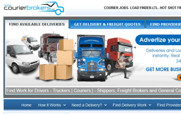 USA - Local Freight Couriers / Truck drivers Email list (real data from courierbrokers.com) 10.400 emails