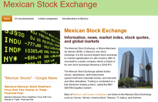 Mexico - Mexican Stock Exchange Brokers & Companies Email list (internal data from stockexchange.com.mx) 30.900 Emails
