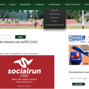 Netherland - Athletics / Sport Enthusiasts (data from avpec1910.nl) 7.800 Emails