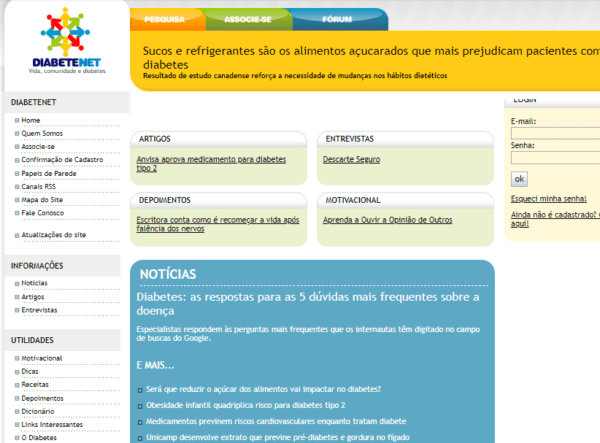 Brazil - Diabetes Community Email List (actual data from diabetes forum/info website) 41.800 Emails
